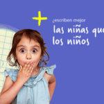 ¿Escriben mejor las niñas que los niños?